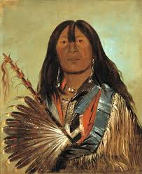 chief of the bad arrow points band 1832 western sioux lakota george catlin american oil national gallery of american art washington