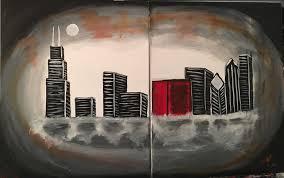 101 class chicago skyline