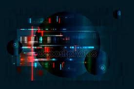 Стоковые векторные изображения Телевизионный шум depositphotos® Глюк Реферат размыто фон 03 стоковый вектор