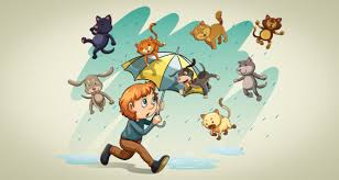 animated raining cats and dogs. Modren Dogs Can It Really Rain Cats And Dogs Intended Animated Raining And Dogs