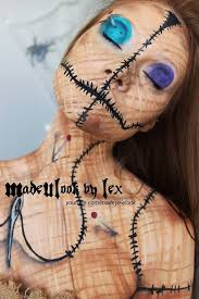 original voodoo doll makeup tutorial for 2016 party body painting
