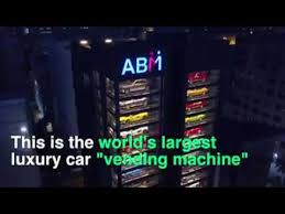 Singapore Car Vending Machine Fascinating The World's Largest Luxury Car Vending Machine In Singapore YouTube