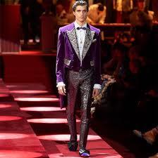 Dolce Gabbana Men S 2 Pc Light Blue Pour Homme Travel Set Mens Fashion Week Fall 2019 Dolce Gabbana A E Magazine