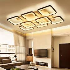 New Post-modern Living Room Ceiling Lamp <b>Nordic</b> Acrylic ...