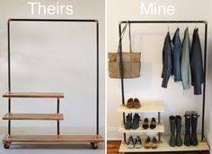 Plumbing Pipe Coat Rack DIY Industrial Coat Rack Coat racks Pipes and Industrial 50
