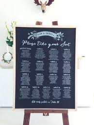 Seating Chart Wedding Reception Assignments Template