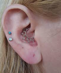 i absolutely need this piece for my daith from buddha jewelry organics except in rose gold