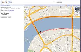 google maps distance measurement tool review  fittechnica