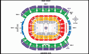 Maple Leafs Seating Chart Toronto Maple Leafs Home Schedule 2019 20 Seating Chart