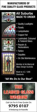 the leaded glass window promotion