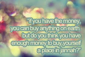 Islamic Quotes On Money