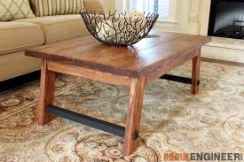 However, we sometimes forget that a coffee table can actually bring the whole room together, it can add some flare, accentuate the colors you want and overall surprise you with its functionality. Angled Leg Coffee Table Free Diy Plans Rogue Engineer