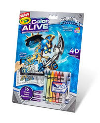 Small Picture Amazoncom Crayola Color Alive Action Coloring Pages Skylanders