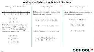 adding and subtracting rational numbers worksheet by tutorcircle 7 ...