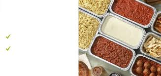 the olive garden catering allows you to create your own pasta station