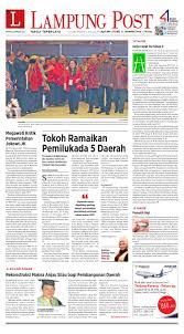 Kabupaten way kanan, lampung qibla richtung: Lampung Post Senin 11 Januari 2016 By Lampung Post Issuu