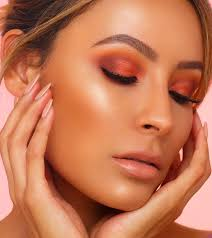 wanna see desi perkin s summer glow makeup