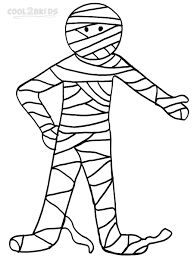 Small Picture Egyptian Mummy Coloring Pages For Kids printable mummy coloring