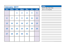 Vacation Calendar Templates 2019 Calendar Templates Download 2019 Monthly Yearly