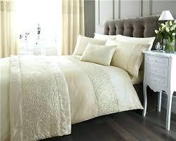 sequin bedding sets cream and gold bedding new double duvet set cream gold sequin luxury quilt