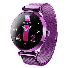 Lady Smart <b>Bracelet</b> Waterproof Steel Strap Heart Rate Monitoring ...
