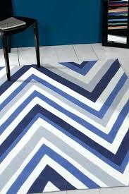 multi chevron rug navy blue white rug love blue and white rug blue and white striped