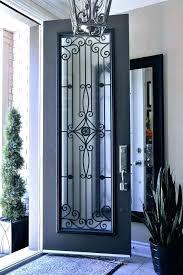 iron and glass front doors front door inserts frosted glass front door inserts panels doors frosted
