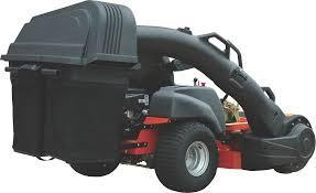 zero turn lawn mower accessories. blower assisted collection system zero turn lawn mower accessories