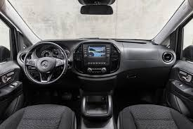 The dashboard is divided into two. Mercedes Benz Renovates The Vito And Evito Tourer Working Horses Mercedesblog