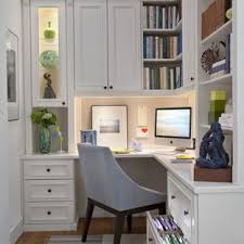 traditional home office ideas. Unique Home Example Of A Midsized Classic Builtin Desk Medium Tone Wood Floor Study Intended Traditional Home Office Ideas