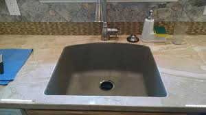 blanco diamond sink. Wonderful Diamond Blanco Diamond Undermount Granite 24 In 0Hole Single Bowl Kitchen Sink In  Truffle 441281 At The Home Depot  Mobile Throughout T