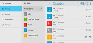 List Of 6 Best Monthly Expenses Manager Apps In Android