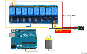 arduino relay wiring diagram arduino image wiring how to turn a 12v ac water pump on off solid state relay or relay on