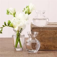 fluted vase trio s 3 vases napkin ring holder glass