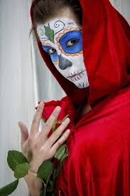 use white face paint in diffe makeup designs
