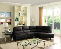 microfiber couch that looks like leather brown faux sectional