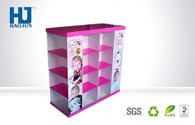 In Store Display Stands Color Printing OEM Custom Retail Store Clothing Cardboard Display 78