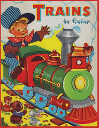 You will find a high quality train engine at an affordable price from brands like enlighten. Trains To Color A Vintage Coloring Book From Artimorean Studios Artimorean Vintage King Eric Tristen Trahan Craig 9781544738567 Amazon Com Books