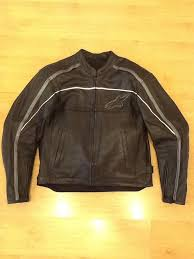 alpinestars black label leather motorcycle jacket xl 1 of 11only 1 available
