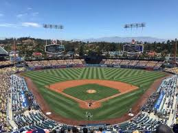Dodger Stadium Section 1rs Home Of Los Angeles Dodgers