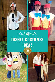 last minute disney costume ideas diy easy