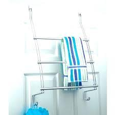 over the door towel rack 3 bar towel rack in chrome shower door over the door over shower door
