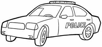 Small Picture Printable Police Car Coloring Inspiration Graphic Police Car