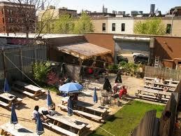 williamsburg beer garden and modern house image dnauranai