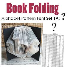 Book Folding Patterns Best Question Mark Book Folding Pattern Alphabet Font Set 48 Debbi Moore
