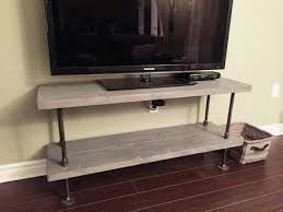 Rustic Industrial TV Stand Coffee Table Made To Fit Your Space Rustic Tv85