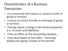 3 characteristics