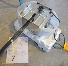 chamberlain 3 4 hp belt drive rail attachment to the garage door opener