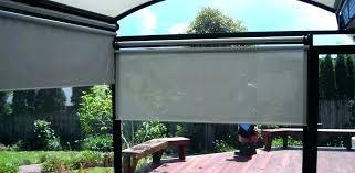 pull down curtains patio pull down shade solar pull curtains shut