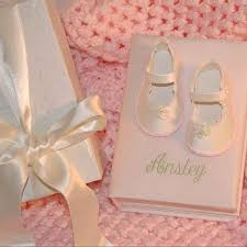 Baby Albums Silk Shoe Photo Album Personalized Baby Gifts Baby Keepsakes